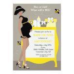 Bumble convites do chá de fraldas da abelha -