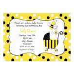 Bumble convites do chá de fraldas da abelha