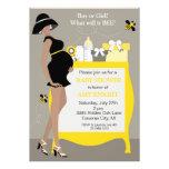 Bumble convites do chá de fraldas da abelha - afri