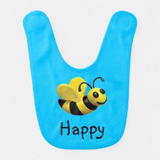 Bumble o chá de fraldas da abelha babador