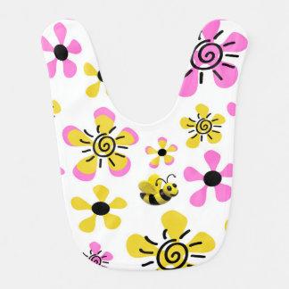 Bumble o chá do bebé da abelha babadores infantis