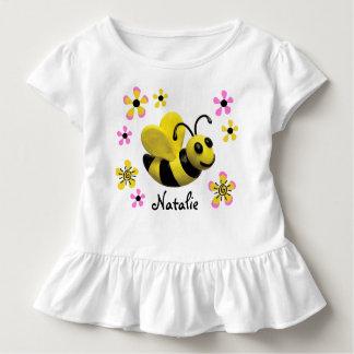 Bumble o chá do bebé da abelha tshirts