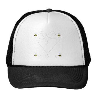 Bumble o chapéu do amor da abelha boné
