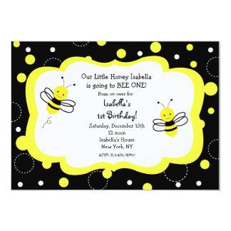 Bumble o mel dos convites de festas de