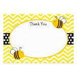 Bumble o obrigado da abelha você cartões convite