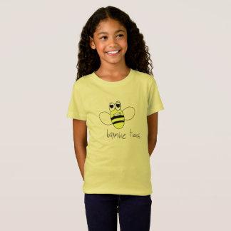 Bumble o T do logotipo das camisetas