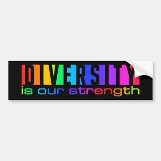 Bumpersticker da diversidade adesivo para carro
