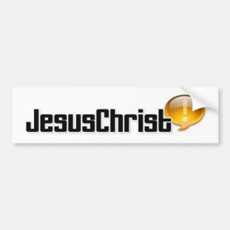 BumperSticker/Jesus Adesivo