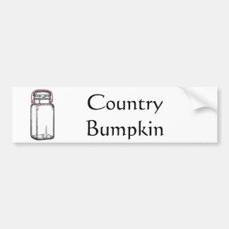 Bumpkin do país adesivo