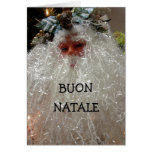 BUON NATALE/BUON ANNO! CUMPRIMENTOS ITALIANOS CARTAO