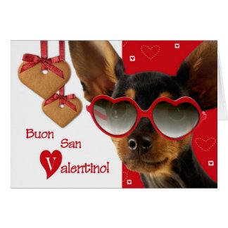 Buon San Valentino. Cartões italianos