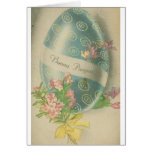 Buona Pasqua!  Cartão de páscoa italiano do vintag