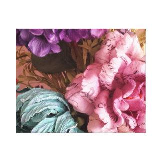 Buquê cor-de-rosa e roxo do vintage