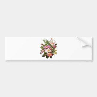 buquê da flor adesivo para carro