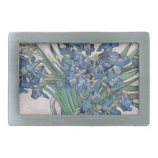 Buquê das flores na máscara azul
