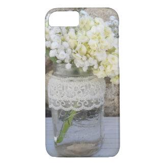 Buquê do frasco de pedreiro capa iPhone 7