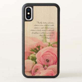 Buquê do rosa Pastel do verso da bíblia das flores