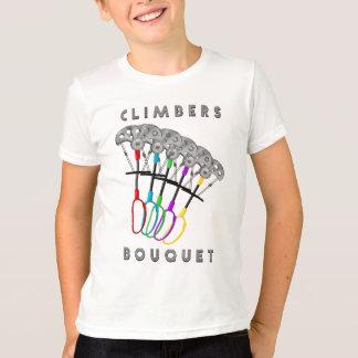 Buquê engraçado da escalada camiseta