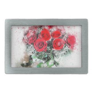 Buquê vermelho romântico da flor