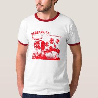 Burbank, Paris do vale (vermelho) Camiseta