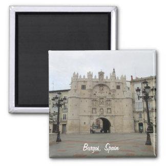 Burgos Ímã Quadrado