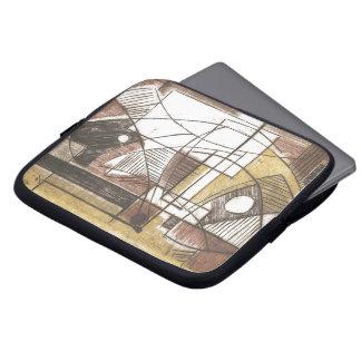 Burin de Rosa Capa De Computador Notebook