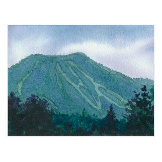 Burke do leste Vermont, cartão da montanha de