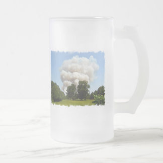 Burning do campo de Mississippi Canecas