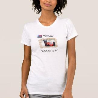 Busca & camisa do salvamento