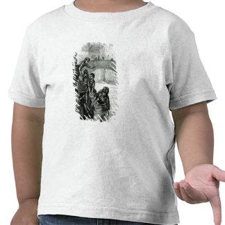 Buscando a água do rio t-shirt