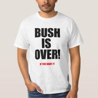 Bush está sobre o branco do valor tshirts