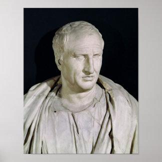 Busto de Marcus Tullius Cicero Pôsteres