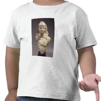 Busto de um imperador romano como um faraó camisetas