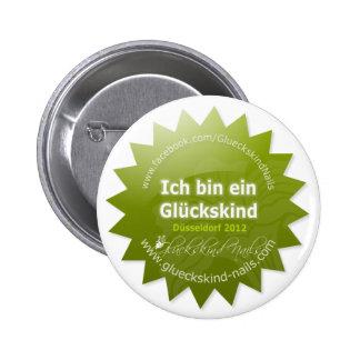 Button de infantil de sorte - Beauty Düsseldorf 20 Botons