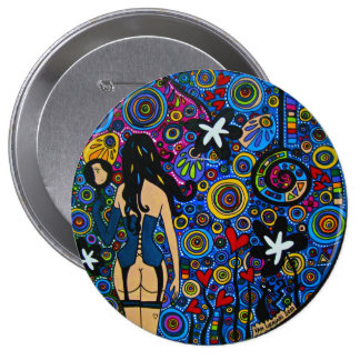 Button Mirror Bóton Redondo 10.16cm