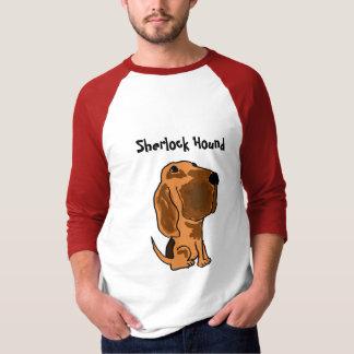 BZ camisa do Bloodhound do cão de Sherlock