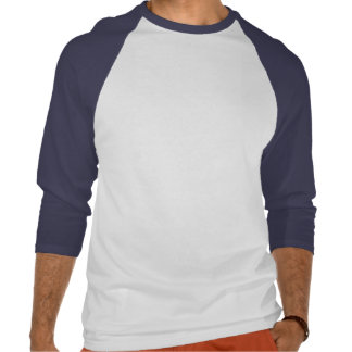 BZ camisa do Natal do tubarão do papai noel Tshirts