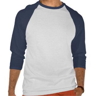 BZ camisa do Natal do tubarão do papai noel T-shirts