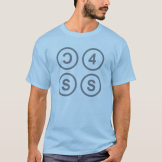C4SS contra o IP, para sempre Camiseta