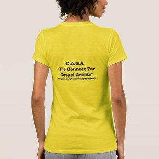 """C.A.G.A. """"a conexão para artistas do evangelho"""", m Camisetas"""