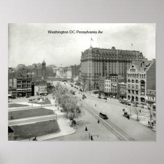 C.C. 1910 de Washington do poster
