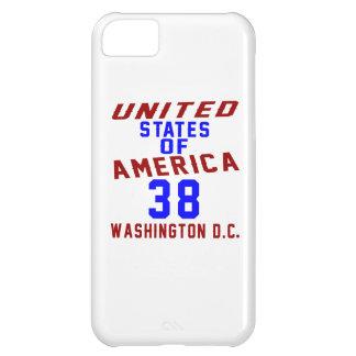 C.C. de Washington dos Estados Unidos da América Capa Para iPhone 5C