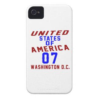 C.C. de Washington dos Estados Unidos da América Capas Para iPhone 4 Case-Mate