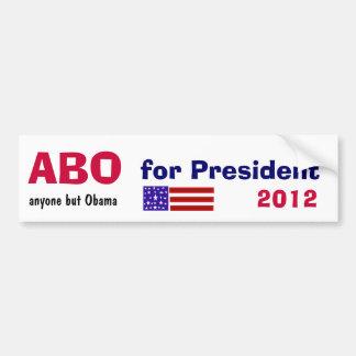 C.C. qualquer um mas Obama para o presidente autoc Adesivo Para Carro
