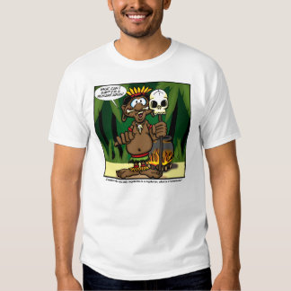 C.C. Weiss StatusToons Vegetarian/.Humanitarian T-shirt