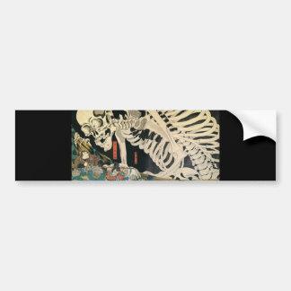 C. de pintura japonês 1800's adesivos