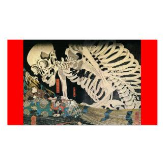 C. de pintura japonês 1800's modelos cartoes de visitas