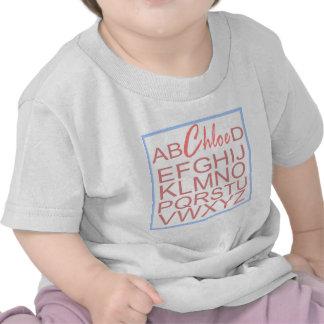 C do alfabeto t-shirt
