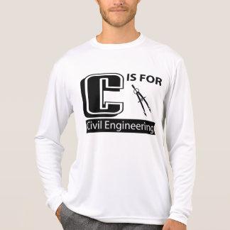 C é para a engenharia civil tshirt