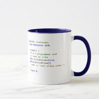 C++ O laço infinito come, dorme, e codifica a Caneca